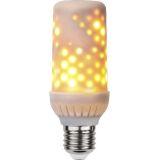 Dekoration LED Eldlampa E27 LED Vit 1800K
