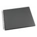 Valokuvakansio GRIEG Design suuri 40 siv. musta