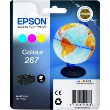 Epson 267 C – C13T26704010 – Farve 5,95 ml