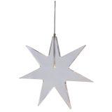 Karla stjerne vindusbelysning LED