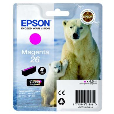 EPSON Mustepatruuna magenta, 300 sivua