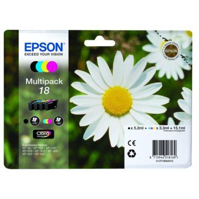 EPSON Bläckpatron MultiPack Bk,C,M,Y T1806 Motsvarar: N/A