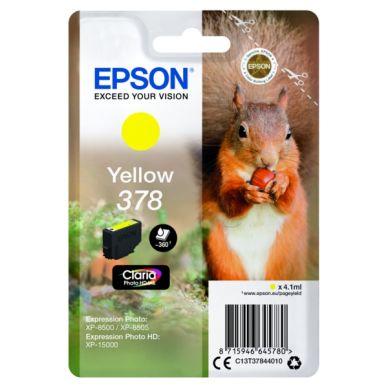 Epson T378 – C13T37844010 – Gul 4,1 ml
