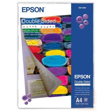 EPSON Fotopapir Matt Dobbelsidig A4 50 ark 178 g