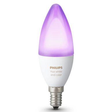 PHILIPS Philips Hue Vit och färg E14 Singel 929001301301 Motsvarar: N/A