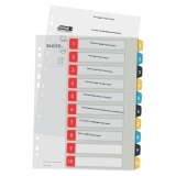 Leitz Cosy 1-10 register for PC utskrift