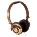 My Doodles barnhörlurar apa On-Ear 85db, brun