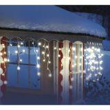 Airam lyslenke LED, istapper, 140 st. pærer, 6,8 m