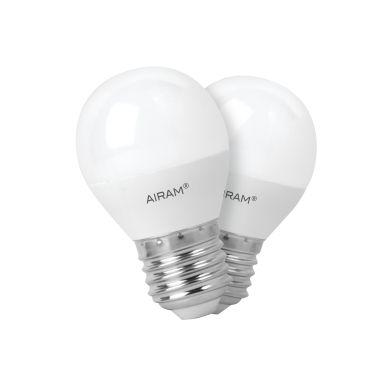 Bild AIRAM Airam LED lampe in ballform E27, 3,5W, 2-pack