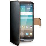 Celly Wallet Case LG G3 Black/Beige