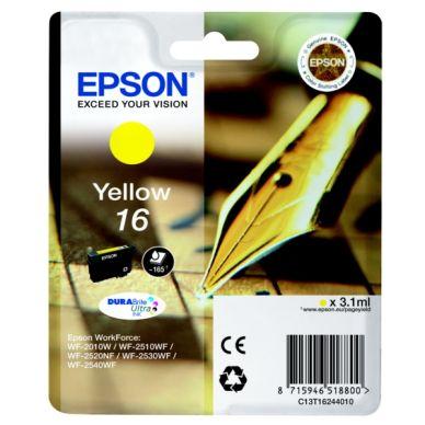 EPSON Mustepatruuna keltainen (Epson 16), 165 sivua