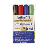 Whiteboardpenna Artline EK-519, 4-set