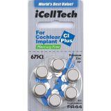 iCellTech 675CI Plus Blå 6p, för cochleaimplantat