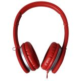 Maxell MXH-HP201 SUPER STYLE HEADPHONE Punainen