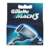 Gillette Mach3, scheermesjes 4 st
