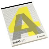 Stiftet blokk A4 Rutet 60g/100 ark