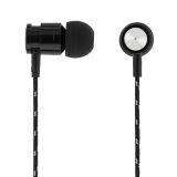 Streetz in-ear hörlurar med tygklädd kabel