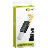 Goobay LCD Batteritestare