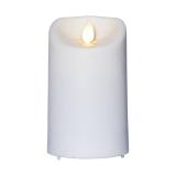 LED Blockljus inom-/utomhus M-Twinkle Vit 12,5cm