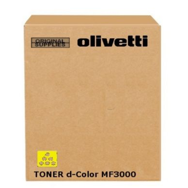 OLIVETTI Cartouche toner jaune 4.500 pages