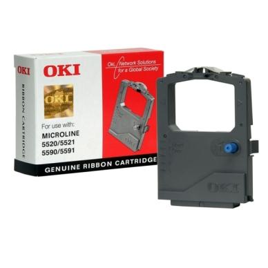 OKI Farvebånd sort 01126301 Modsvarer: N/A