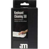 AM rengjøringskluter for tastatur 50 stk