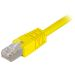 DELTACO U/UTP Cat6 patchkabel 7 m, gul