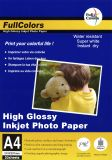 Glossy fotopapper 200g A4 20-pack