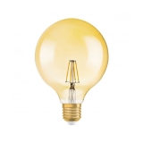 Osram Vintage 1906 LED Globe 51 Dæm FIL Guld