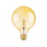 Osram Vintage 1906 LED Globe 51 DIM FIL Guld