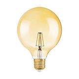 Osram Vintage 1906 LED Globe 51 FIL Guld