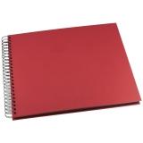 Fotoalbum Greig Design 293x333 mm röd