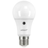 Airam LED Sensor lyspære 11W/827 E27