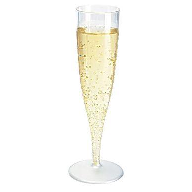 Duni Plastglas champagne 13,5 cl fast fot, 10 st