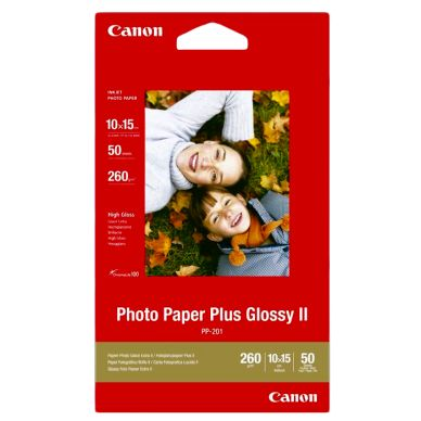 CANON Fotopapir Glossy Plus 10x15 50 ark 260g