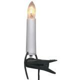 Juletrebelysning enkelleddet 16 lys klar, for innendørs bruk