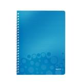 Muistikirja WOW PP A4 viivat sininen