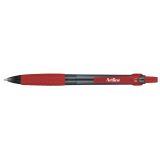 Kulspetspenna Artline EK-8410 med gummigrapp Röd