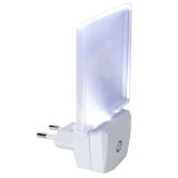 LED natlys Frosted EUR stik 0,5W