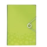 Projektmappe Leitz WOW PP grøn