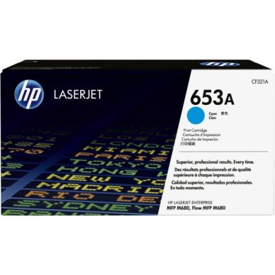 HP Cartouche toner cyan 16.500 pages