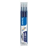 Refill 3-pack Frixion 0,7 blå svart
