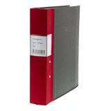Kontorspärm neutral A4 60 mm röd
