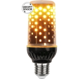 Decoration Eldlampa LED E27 1800K