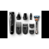 Braun MGK5060 Multigroom 8-i-1 (inkl Gillette hyvel)