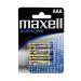 Maxell LR03 AAA 4p Alkaliska