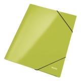 Kuminauhakansio LEITZ WOW A4 vihreä