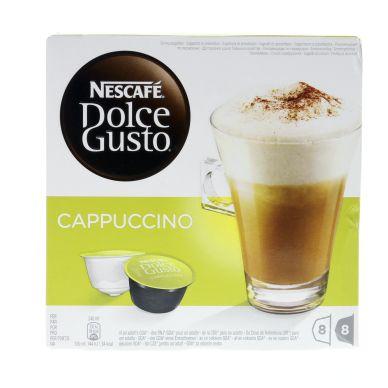 Dolce gusto Nescafé© Dolce Gusto Cappuccino kaffekapsler, 8 port.