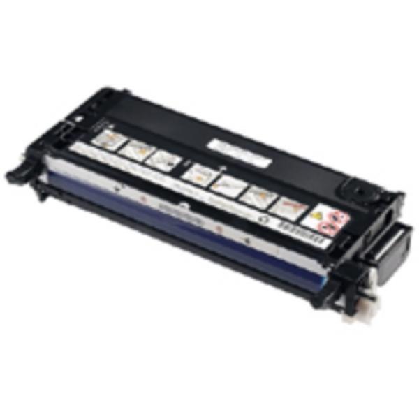 Pris på Dell Tonerkassett sort 8.000 sider, høy kapasitet (PF030) PF030 Tilsvarer: N/A