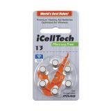 iCellTech PR48/ZA13/DA13/V13 Hörapparatsbatteri